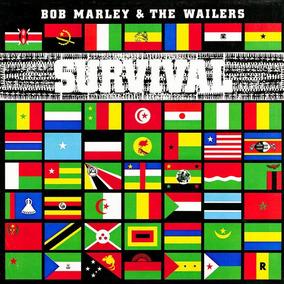 Lp Bob Marley Survival 180g Lacrado Importado Frete Grátis