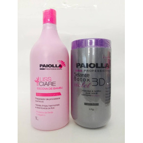 Btx Selante Violeta 3d 7 Em 1 Paiolla + Shampoo Bambu 1 L