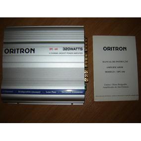 Modulo / Amplificador Oritron Opc 644 320 Watts - 4 Canais
