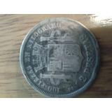 Moneda Española De 2 Pesetas De1870 Plata Cd 22