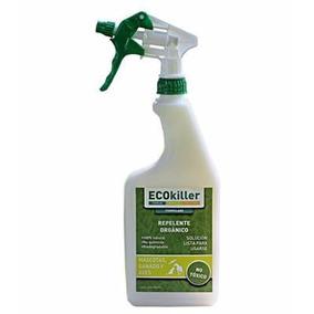 Ecokiller Spray 1000 Ml,elimina Pulgas Y Garrapatas