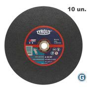 Disco Corte Tyrolit  Xpert De 350 X 3 Mm Caja X 10 Un Gramabi Sensitiva 14 Plano 355x3 Hierro 350x3 Metal Inoxidable