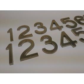 Números En Acero Para Casas Edificios