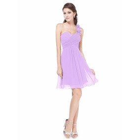 V1161 Vestido Formal Lila - It Girls Colombia