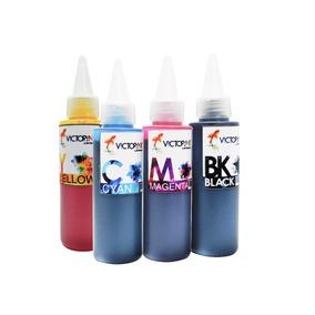 4 Tintas Dye Ep 100 Ml Para Recargar Cartuchos