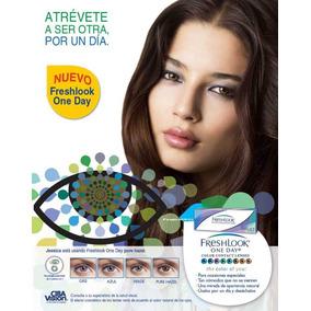 Pupilentes De Color Cosmeticos Fresh Look Lentes Contacto