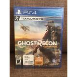 Ghost Recon Sellado Nuevo Ps4