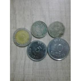 Moedas Antigas(lote Com 5 Moedas)
