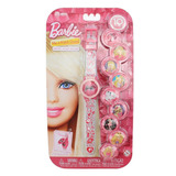 Reloj Digital Caratulas Intercambiables Barbie