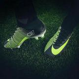 Tacos De Futbol De Bota Nike Mercurial Cr 7 Talla 41