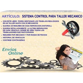 Sistema Taller Mecanico Control Total