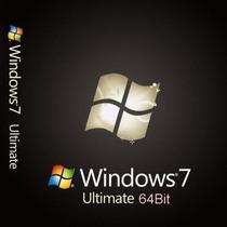Licencia Windows 7 Ultimate Sp1 32/64 Original Para 2 Pc