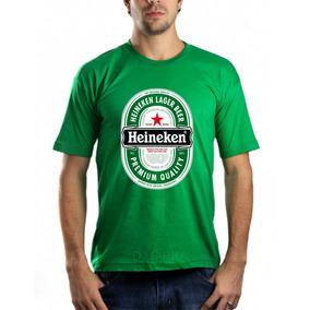 Camisetas - Heineken - Cerveja - Personalizada - T-shirt