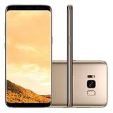 Samsung Galaxy S8+ S8 Plus 64gb Dourado Lacrado Nota Fiscal