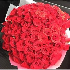 Arreglo Floral, Ramo De 36,50,100 Y 200 Rosas Para Enamorar!