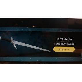 Sword - Hbo - Game Of Thrones - Jon Snow - Espada- United