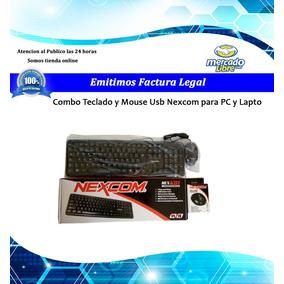 Kit Teclado Y Mouse Nexcom Economico Usb