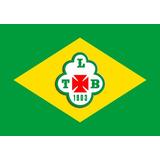 Bandeira Do Tuna Luso - Pará + Bandeira Do Brasil