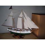 Modelismo Naval Maqueta Barco De Madera Replica Goleta Elsie