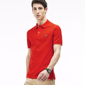 Camisa Camiseta Polo Lacoste Slim Fit - 100% Original + Nf