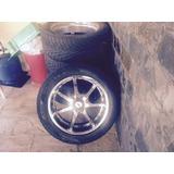 4 Rodas Cromadas Tsw Importada - Aro 20 + 4 Pneus Toyo Tyres