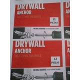 Ramplug Para Drywall 12 Piezas + Tornillos