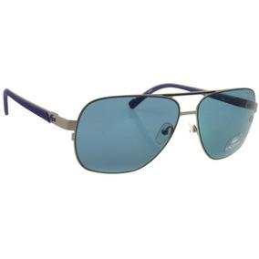 Lentes De Sol Lacoste L141s 045 Silver Blue