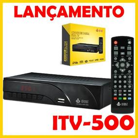 Conversor Tv Digital Itv-500 Filtro 4g Hdmi Usb Gravador 3d