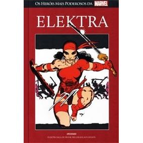Elektra - Salvat Marvel Heroes 63 Vermelha - Novo/lacrado.