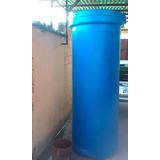 Tanque De Agua Cilindrico 900 Litros Azul