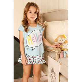 Pijama Verano Nena Hello Mini Promesse 12368