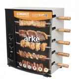 Churrasqueira A Gás Rotativa Bivolt 5 Espetos Agr-05 - Arke