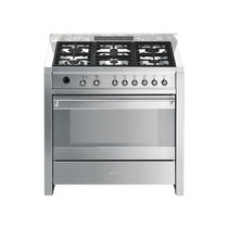 Cocina Smeg Mixta 90 Cm A1-7