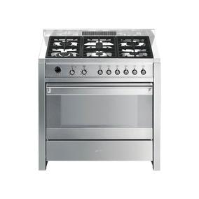 Cocina Smeg Mixta 90 Cm A1-7 - Italiana