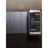 Samsung S7 Edge Dual Sim - Color Plateado + Estuche + Film