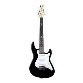 Guitarra Strinberg Egs216 Preta E Branca 6 Cordas Aço