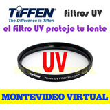 Filtro Uv Tiffen (49mm, 52mm, 55mm, 58mm, 62mm & 67mm)