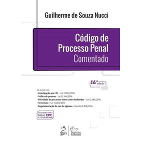 Codigo De Processo Penal Comentado - Nucci - Forense