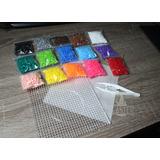 Medio Pack - 3.750 Hama/perler/artkal Beads 5mm + Accesorios