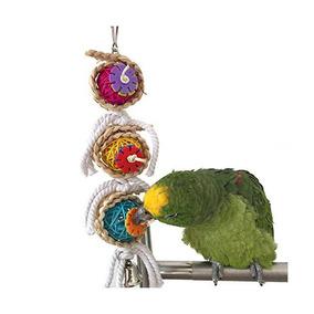 Rypet Bird Chew Toys Con Campanas Para Loros Agapornis Jaula