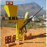 Projeto Máquina Prensa Tijolo Ecológico Fácil Fazer K