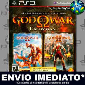 God Of War Collection - Ps3 - Código Psn - Promoção !!