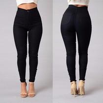Calças Jeans Cintura Alta Skinny Slim Moda 2016 !!
