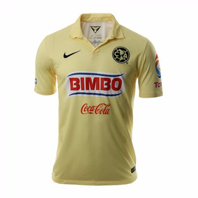 Jersey Original Aguilas América Nike Campeón Crema 2014-2015