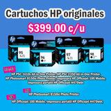 Cartucho Hp 95, 96, 97 Y 98 Original! A Sólo $399!!