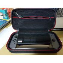 Nintendo Switch Mica De Vidrio, Funda, Case