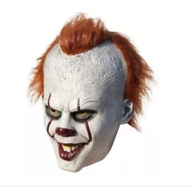 Mascara Palhaço Assustador Stephen King Pânico Medo Susto