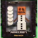 Minecraft Figura Goldem De Nieve Mide 15cm Original Mattel