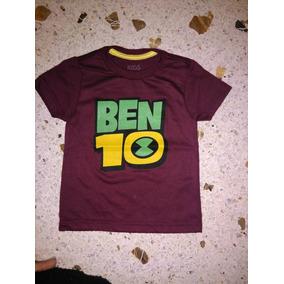 Camisa De Superhero De Niños