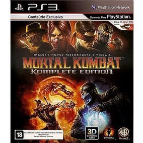 Mortal Kombat 9 Komplete Edition - Ps3 - Novo